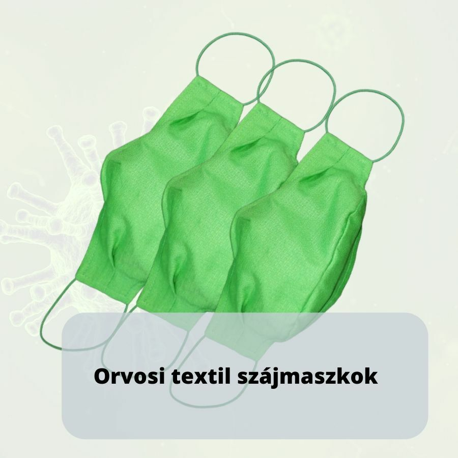 MM orvosi textil szájmaszk