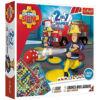 Sam a tűzoltó 2 az 1-ben társasjáték gyerekeknek – Trefl