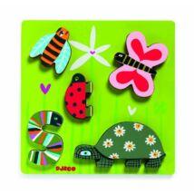 Kis kedvencek - Little beasts - Puzzle, formaberakó