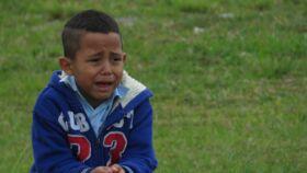 Elveszett gyermek kiabál