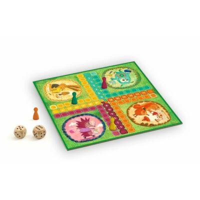 Klasszikus társasjáték - Ludo game