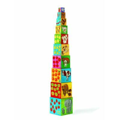 Toronyépítő kocka - barátok - 10 my friends blocks