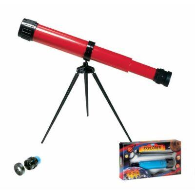 Csillagász gyerek távcső