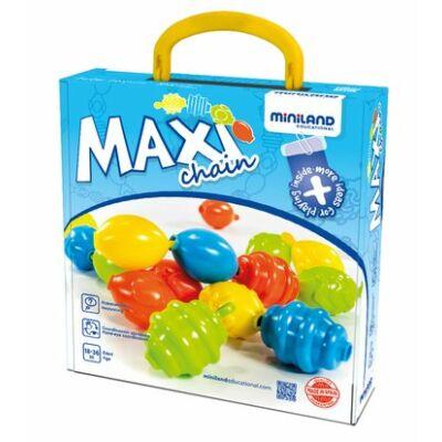 Maxichain speciális fejlesztő építőjáték 2 éves kortól