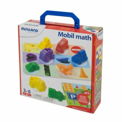 Miniland Járműves matekos játék mini