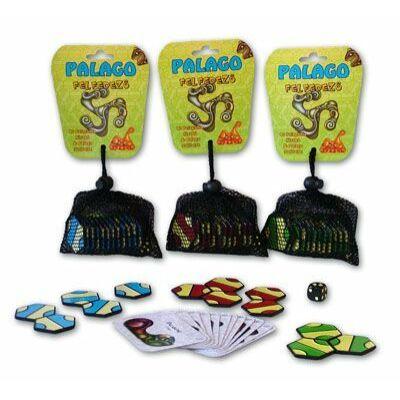 PALAGO Felfedező Készlet (12 lapka, 12 kártya) logikai játék