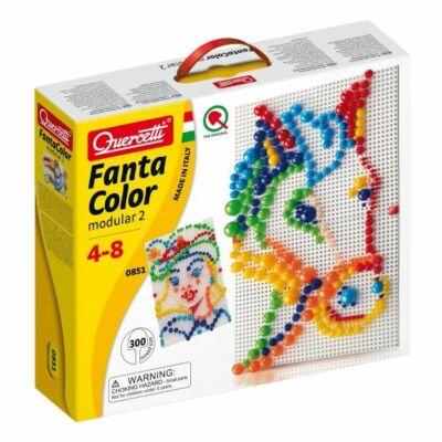 FantaColor 2 táblás pötyi játék - 300 db vegyes tüskével