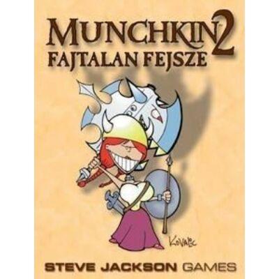 Munchkin 2 - Fajtalan Fejsze - magyar kiadás társasjáték