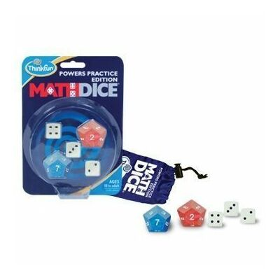Math Dice Powers - hatványok társasjáték