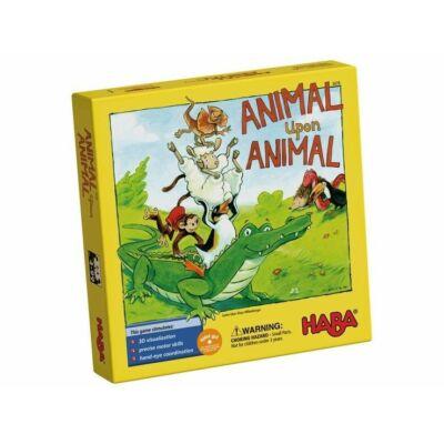 Haba Animal Upon Animal - Állatpiramis társasjáték