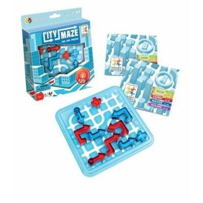 Út Vonal - City Maze - Smart Games logikai játék