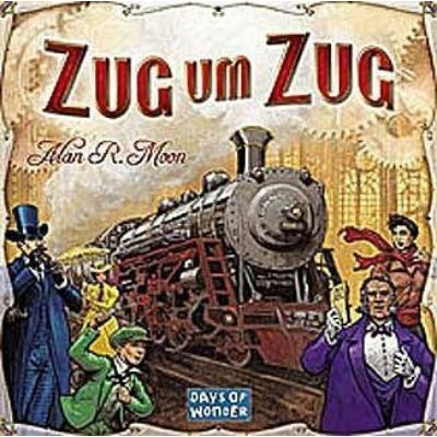 Ticket to Ride (Zug um Zug ) társasjáték