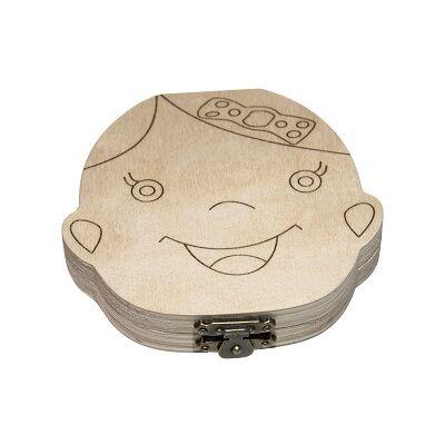Kislány Tejfogtartó dobozka
