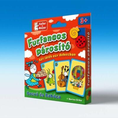 Bogyó és Babóca Furfangos párosító -kártyajáték társasjáték