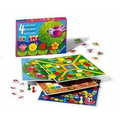 4 elsö játékom társasjáték