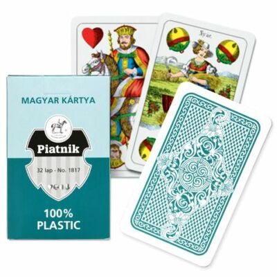 Plasztik Magyar kártya kártyajáték