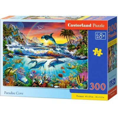 Paradicsomi tengeröböl 300db-os puzzle - Castorland puzzle