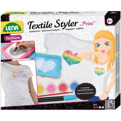 LENA: Ruhatervező textil printerrel