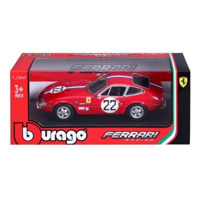 Bburago: Ferrari 365 GTB4 Competizione 1A Serie fém kisautó 1/24