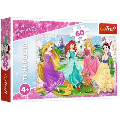 Disney Hercegnők: Kedves hercegnők puzzle 60 db-os – Trefl