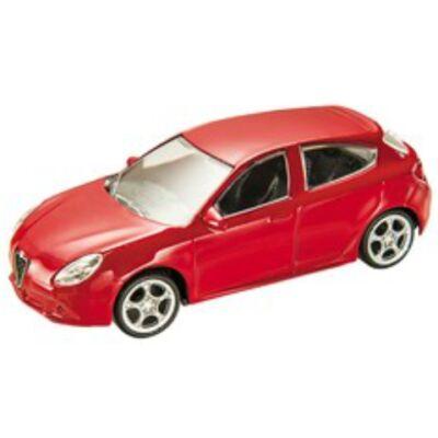 Alfa Romeo Giulietta fém autómodell 1/43 piros – Mondo Motors