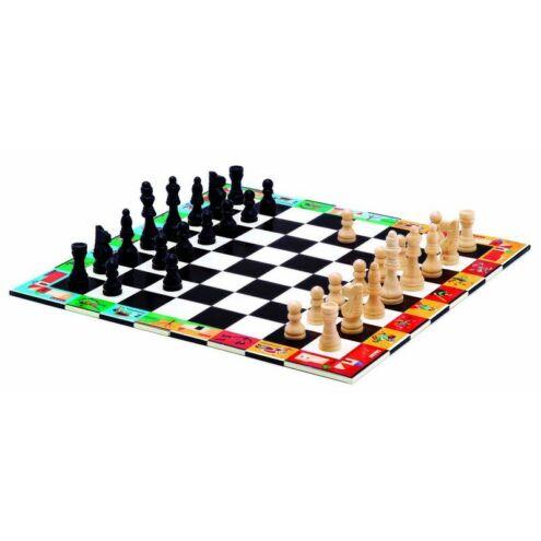 Három az egyben táblajáték - Chess + Checkers