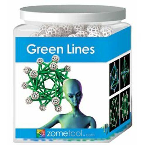 Zometool - Zöld egyenesek -Green Lines