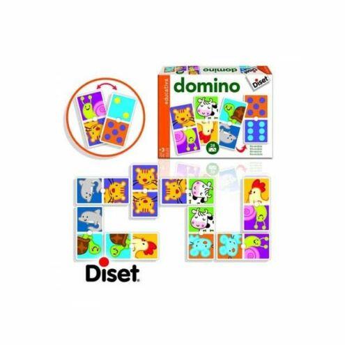 Fejlesztő játék Gondolkodási műveletek Állatos dominó DS63491