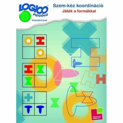 Logico Piccolo Szem-kéz koord.:Játék a formákkal