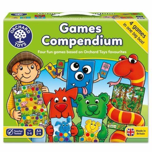 Games Compendium 4 db-os játékgyűjtemény
