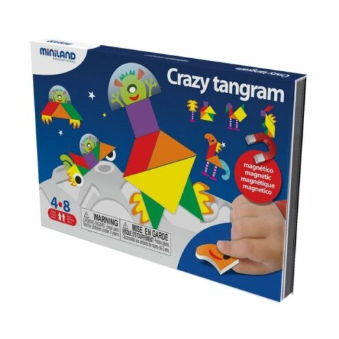 Mókás Tangram - mágneses játék