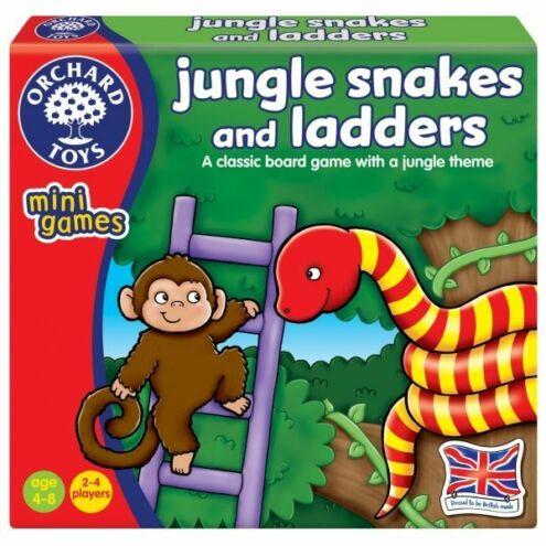 Kígyók és létrák a dzsungelben