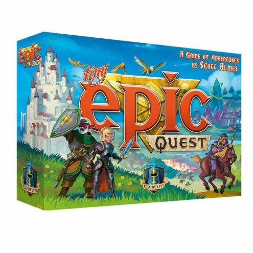 Tiny Epic Quest társasjáték