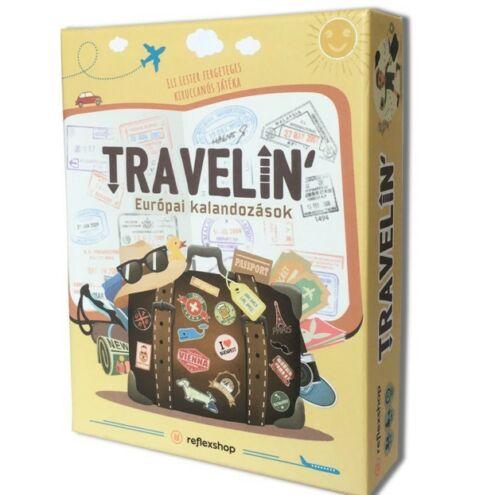 Travelin' Európai kalandozások társasjáték