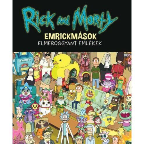 Rick & morty emrickmások társasjáték