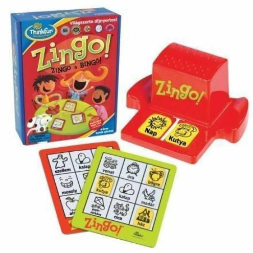 Zingo - magyar kiadás társasjáték