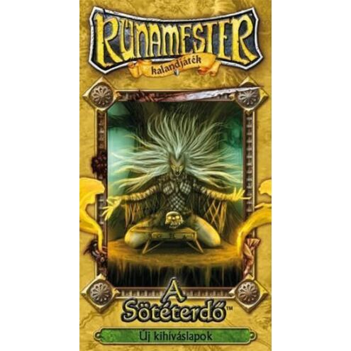 Rúnamester - A sötéterdő kiegészítő társasjáték