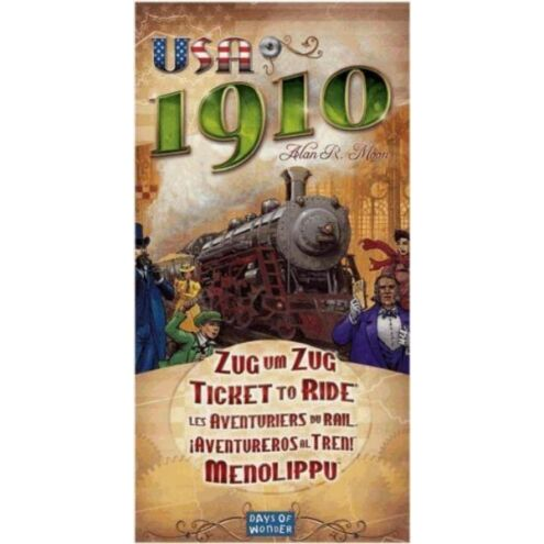 Ticket to Ride - USA 1910 társasjáték