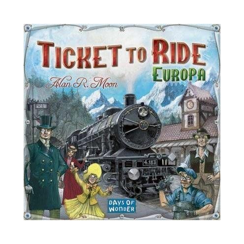Ticket to Ride Európa Angol nyelvű társasjáték