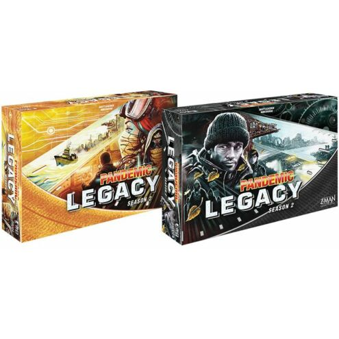 Pandemic: Legacy - Season 2 (Sárga doboz) társasjáték