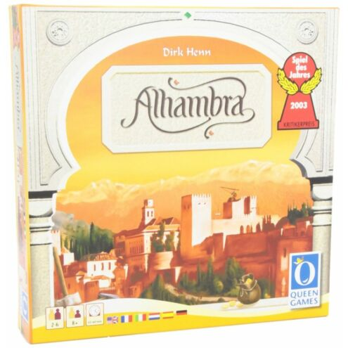 Alhambra új kiadás társasjáték