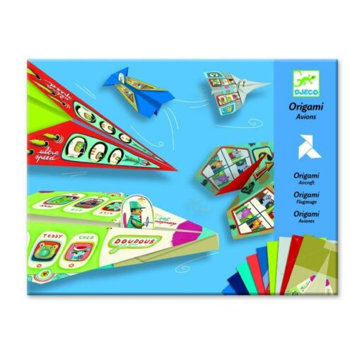Repülők - Origami - Planes - Djeco