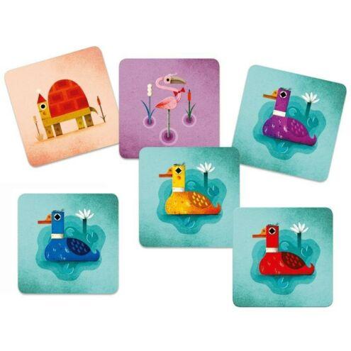 Őrült kacsák kártyajáték - Taktikai kártyajáték - Crazy Ducks - Djeco