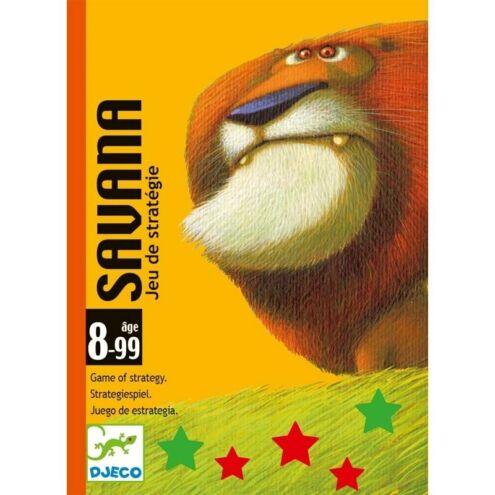 Savana kátyajáték - Stratégiai játék - Djeco