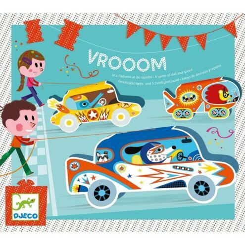 Autóverseny - Ügyességi party játék - Vroom - Djeco