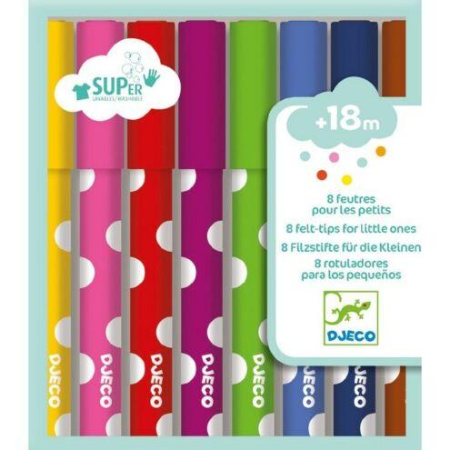 Kimosható filc kicsiknek - 8 felt tips for little ones - Djeco