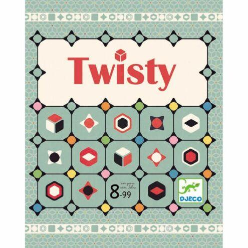 Twisty - Logikai társasjáték - Twisty - Djeco