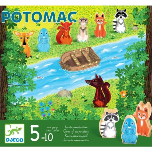 Potomac - Kooperációs társasjáték - Potomac