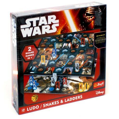 Star Wars Ébredő erő: 2 az 1-ben társasjáték - Trefl