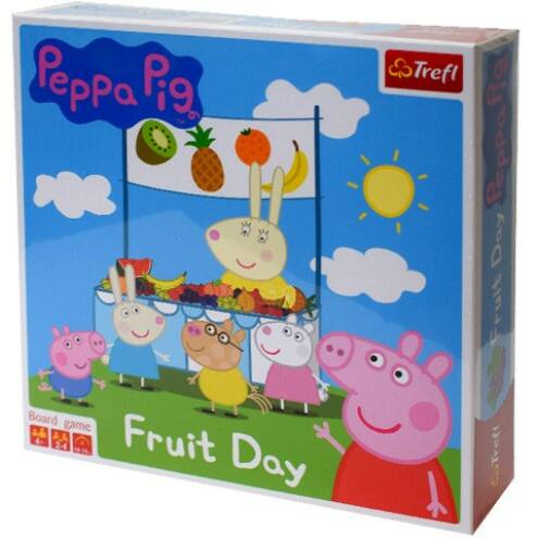 Peppa malac: Gyümölcs nap társasjáték - Trefl